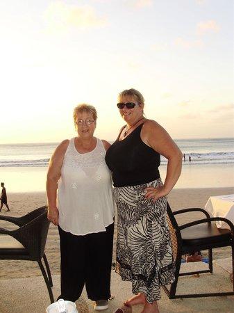 Karma Royal Jimbaran : Margaret and Me on our first Holiday together
