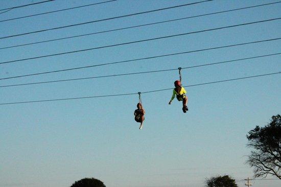 Myrtle Beach Zipline Adventures: zipping