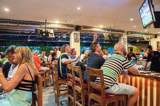 Adrenalin Sports Bar: It's a goal