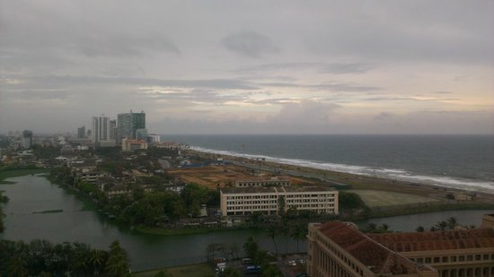 Hilton Colombo : View from my room