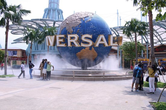 ยูนิเวอร์ซัล สตูดิโอ สิงคโปร์: Entrance at the Universal Studio