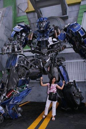 ยูนิเวอร์ซัล สตูดิโอ สิงคโปร์: Great experience and a must to see theTransformer 3D ride