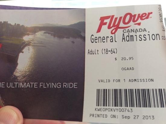FlyOver Canada : besser als nur IMAX