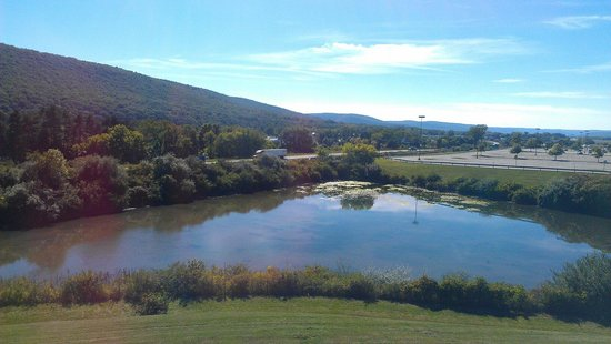 Country Inn & Suites By Carlson, Big Flats (Elmira): The view from the window of King Suite 323.  Gorgeous!  Carol Scheff, Pennsylvania.