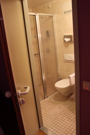 Hotel Fantasia : Shower and Toilet