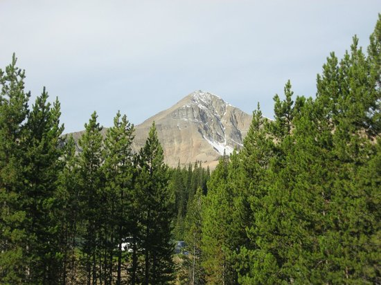The Lodge at Big Sky: View of the mountain