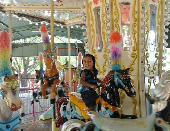 Wonderla Amusement Park : ride for kids