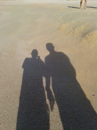 Grand Solmar Land's End Resort & Spa: shadows on the beach