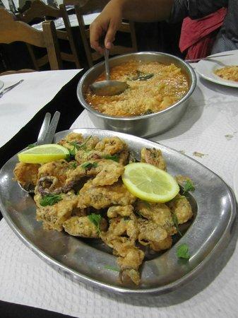 Casa Adao : Polvo (fried octopus)