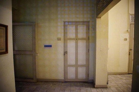 Charoendee: door to our room