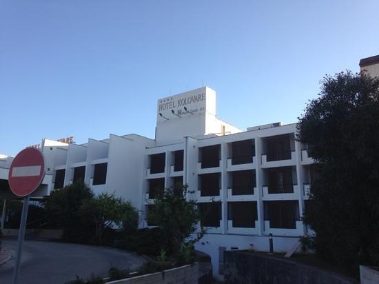 Hotel Kolovare : hotel vooraanzicht