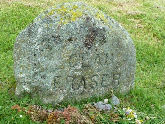 Culloden Moor, UK: Culloden Battlefield - Clan Fraser Stone