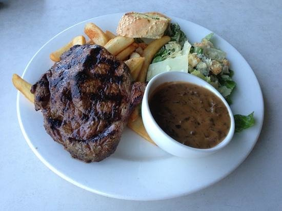 Morrison Hotel: The Morrison steak