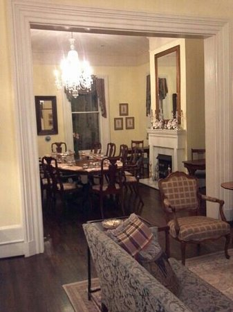 The Verandas: A peek into the dining room at night.  Don't miss breakfast time in the morning!  Great food and