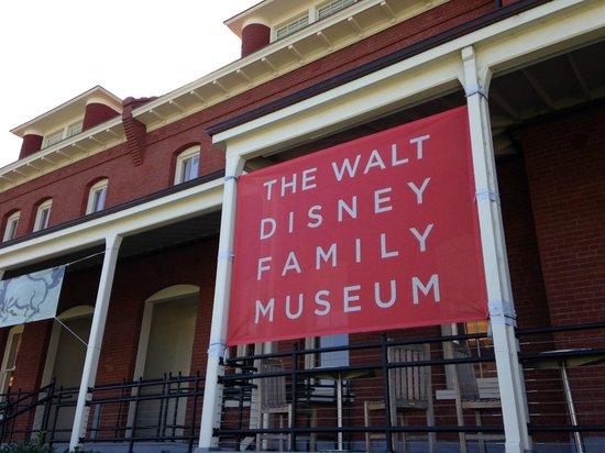 Walt Disney Family Museum : Exterior