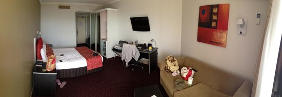Hotel Grand Chancellor Brisbane: Nice room