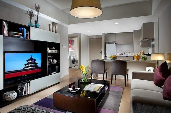 Somerset Heping Shenyang : Living room of One-bedroom