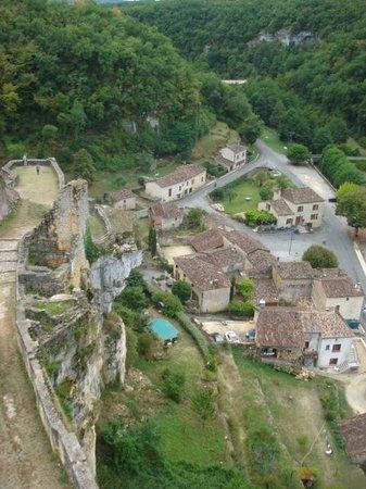 Château de Gavaudun : La vallée de Lède