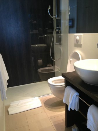 Crowne Plaza Zürich Hotel : Modern bathroom