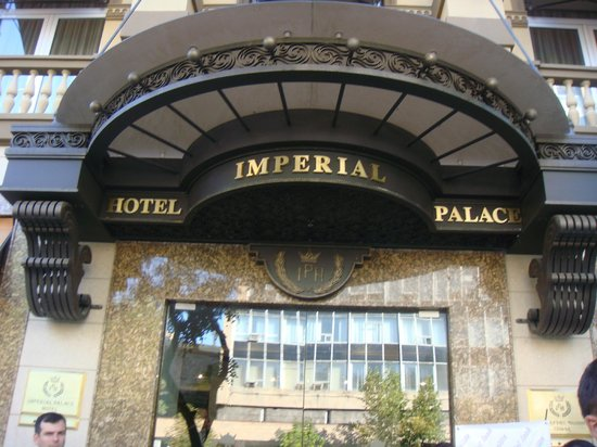 Imperial Palace Hotel: entrance