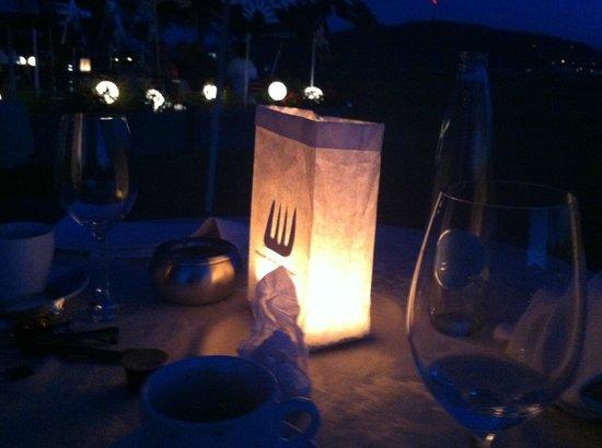 Sporrer: Abendbeleuchtung auf dem Balkon