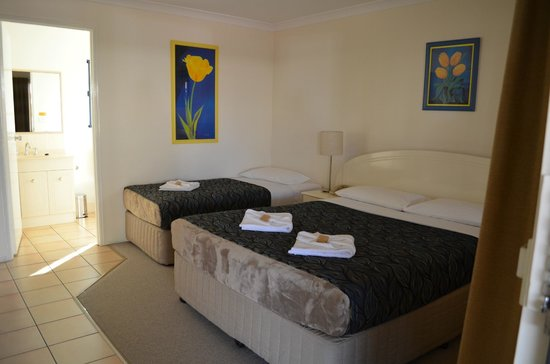 Rockhampton Palms Motor Inn: Twin Room