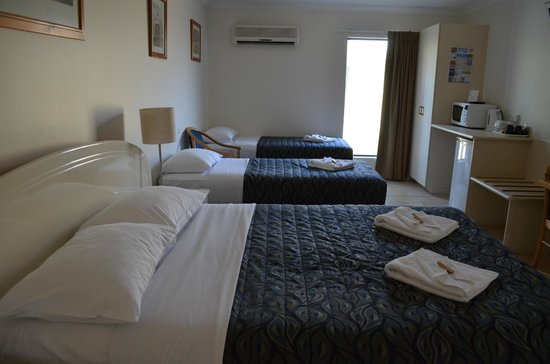 Rockhampton Palms Motor Inn: Family room