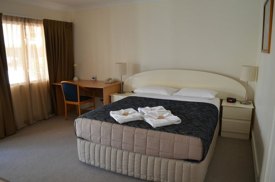 Rockhampton Palms Motor Inn: Double room with desk