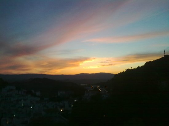 Casares, Spanyol: Sunset from the Terrace