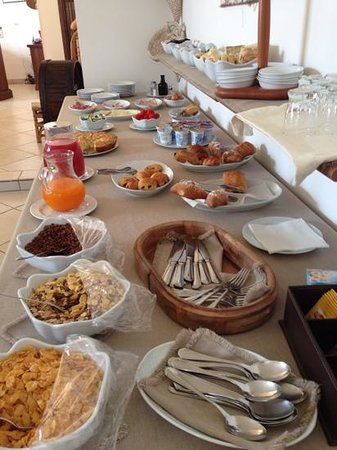 Hotel Masseria L'Ovile: colazione