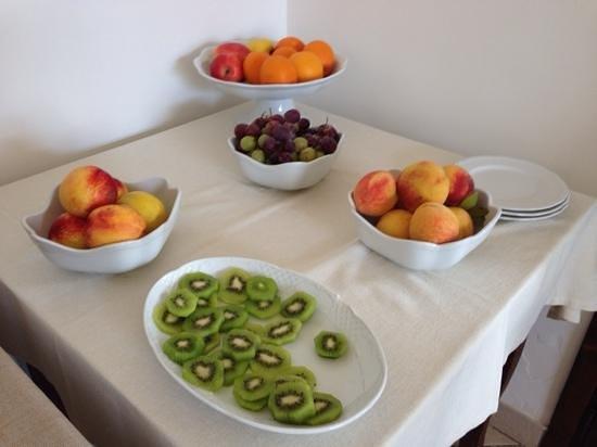 Hotel Masseria L'Ovile: L'angolo della frutta