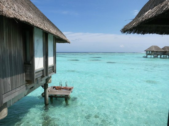 Club Med Kani: Jump straight into the sea from the lagoon villa