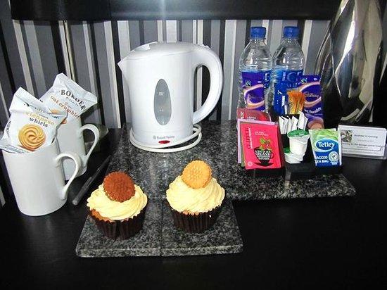 The Metropolitan: Cupcakes de bienvenida