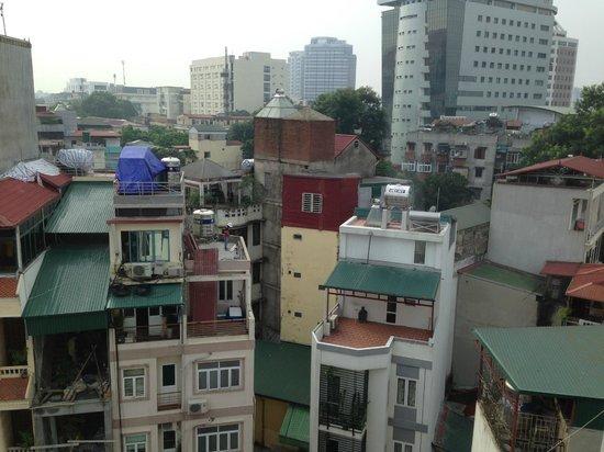 Silk Path Hotel: 眺め。美しくはない