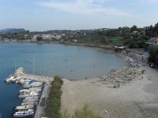 Tsilivi Admiral Hotel : Piękna plaża