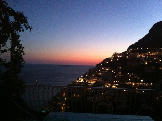 Villa Fiorentino: Sunset from our terrace