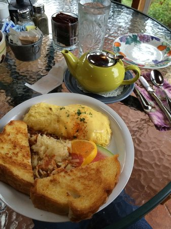 Wildflower Grill : Seafood Omlette