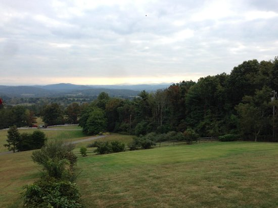 Brierley Hill Bed and Breakfast: View from the back porch