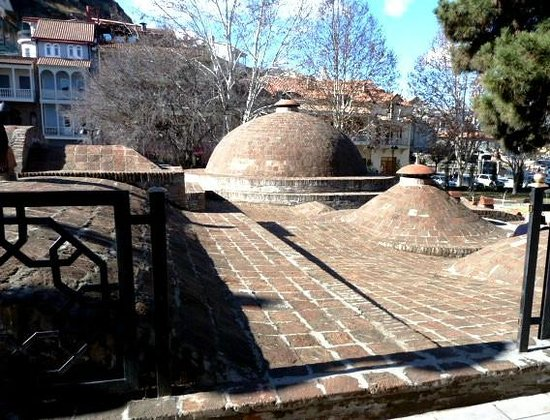 """Tbilisi Friends Hostel: The T'bilisi """"baths"""" are only 300 meters away"""