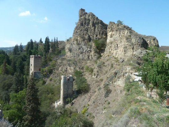 Tbilisi Friends Hostel: Incredibly, this is only 500 meters away.