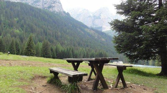 Val de San Nicolo -bench