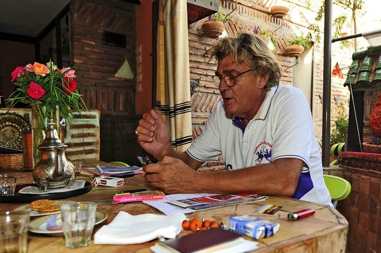 Riad CharCam : Bruno, le maôtre des lieux