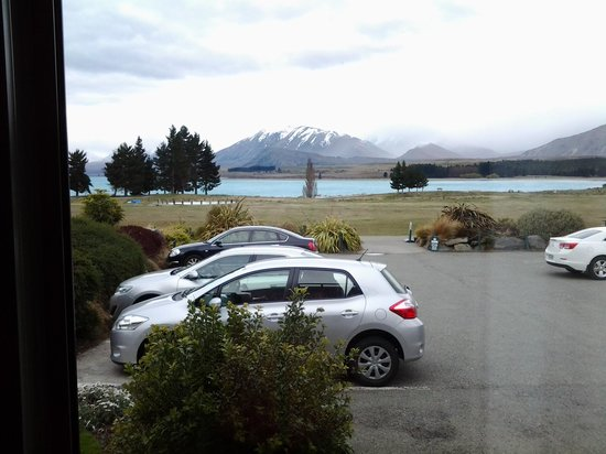 Lake Tekapo Village Motel: View from our deck