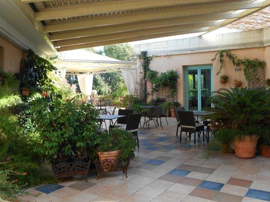 Park Hotel Asinara : terrazza