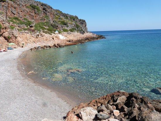 Platanias, Greece: spiaggetta