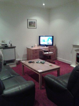 Balmoral Hotel: Lounge area