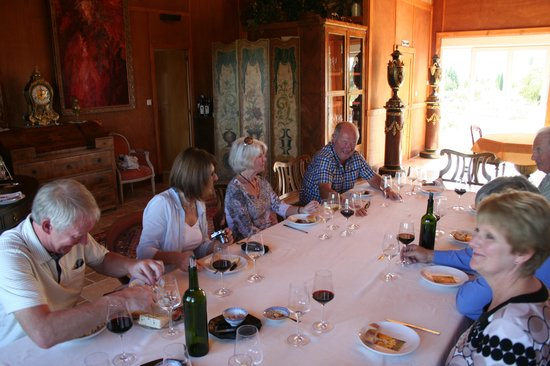 O'Vineyards Table d'Hote: Great company