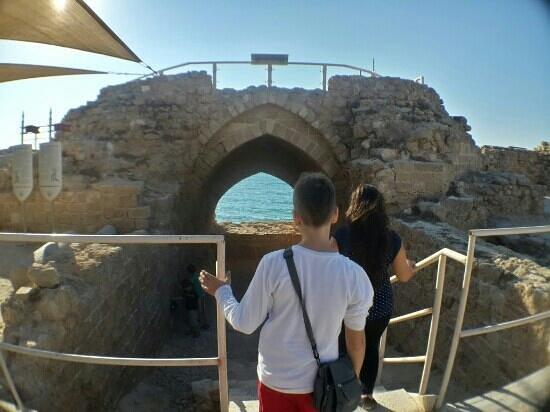 Herzliya, Israel: the arch