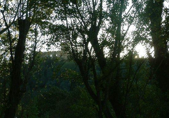 "Estalagem Santa Iria: view on fantastic castle ""convento di Tomar""; DO VISIT IT !!!"