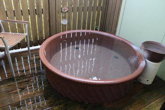 Kisara: 露天風呂